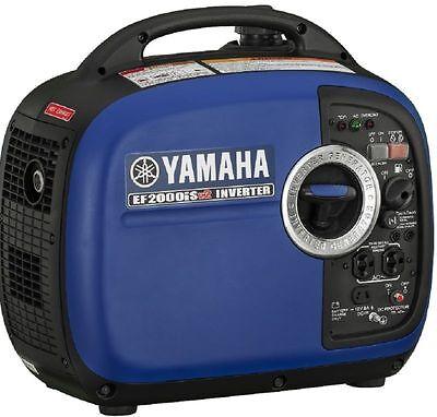 Yamaha Ef2000isv2 Portable Generator 2000 Watt Ef2000is