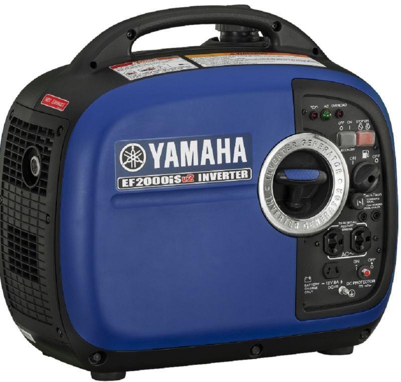 Yamaha EF2000isV2 Portable Generator 2000 Watt EF2000i Ship