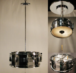 Unbeatable lighting fixture for the musically inclined.