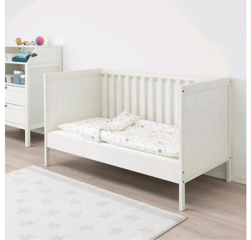 buy online 2f20f 52d1b Baby / Toddler Cot Bed Ikea Sundvik | in Church Village, Rhondda Cynon Taf  | Gumtree