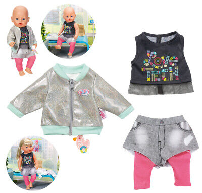 Zapf Creation Baby Born City Outfit 43 cm (Bunt)