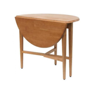 "Winsome Hannah Round 42"" Double Drop Leaf Table"