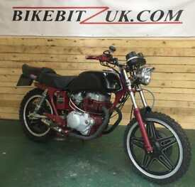 Honda CB250 SUPER DREAM FLAT TRACKER CAFE RACER CUSTOM 250CC ***BIKEBITZUK***