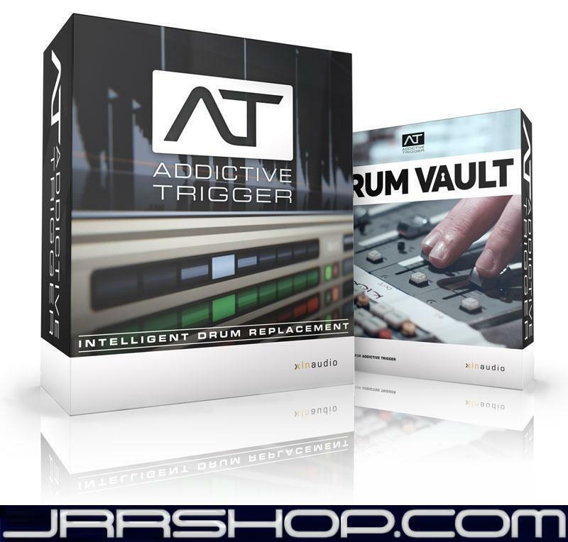 XLN Audio Addictive Trigger + Drum Vault Bundle eDelivery JRR Shop