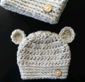 Bear Crochet Hats