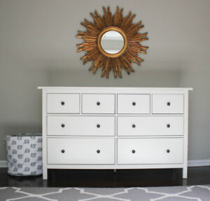 IKEA Hemnes 8-drawer dresser - White - only 8 months old