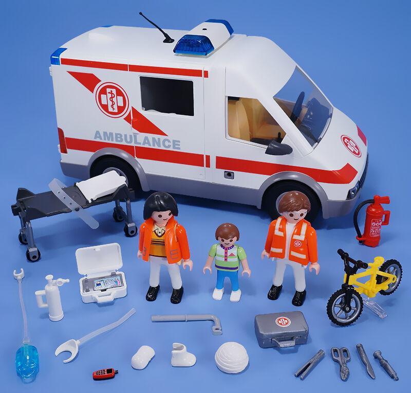 welches zubeh r gibt es zum playmobil krankenwagen ebay. Black Bedroom Furniture Sets. Home Design Ideas