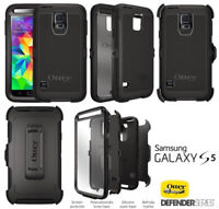 Samsung S5 Otterbox style protective case & adjustable beltclip