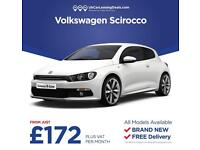 Brand New Volkswagen Scirocco On Lease Contracts