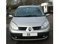 Renault scenic dynamique VVT for sale, MOT, service history, drives really well.