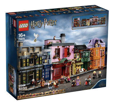 Lego 75978 Harry Potter Diagon Alley - Brand New And Sealed Limited Only 1 Left