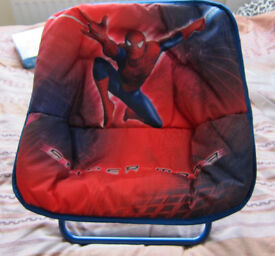Spiderman kids folding chair brand new