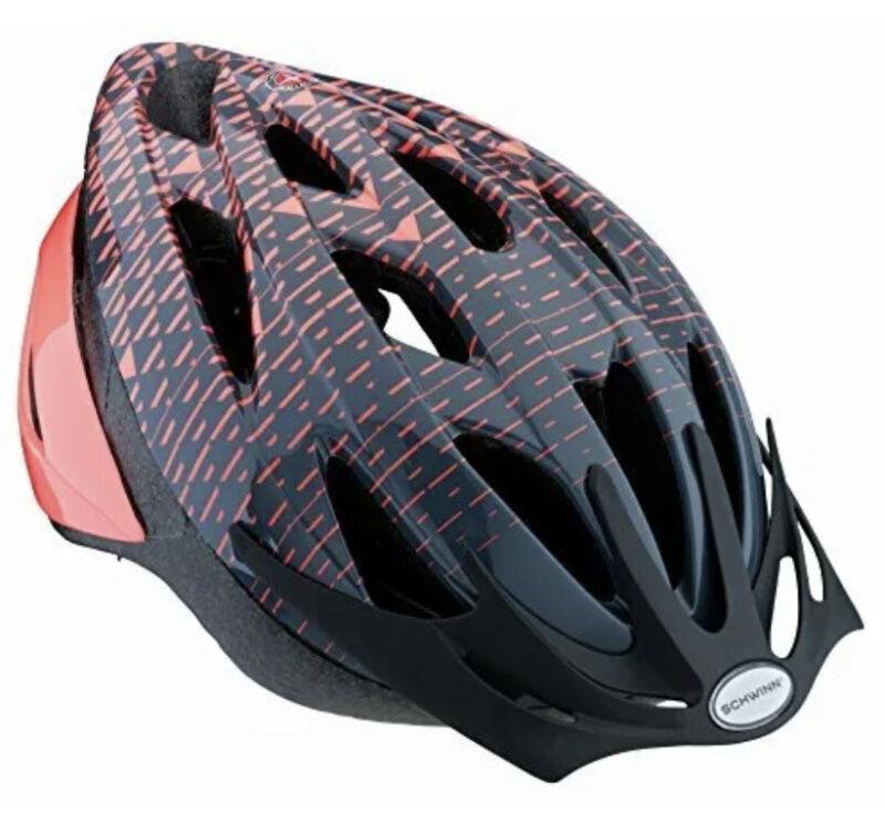 Schwinn Thrasher Bike Helmet Lightweight Microshell Design Adult Coral AGE 14+