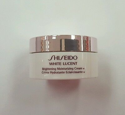SHISEIDO WHITE LUCENT Brightening Moisturizing Cream W Deluxe Travel Size 18 ml