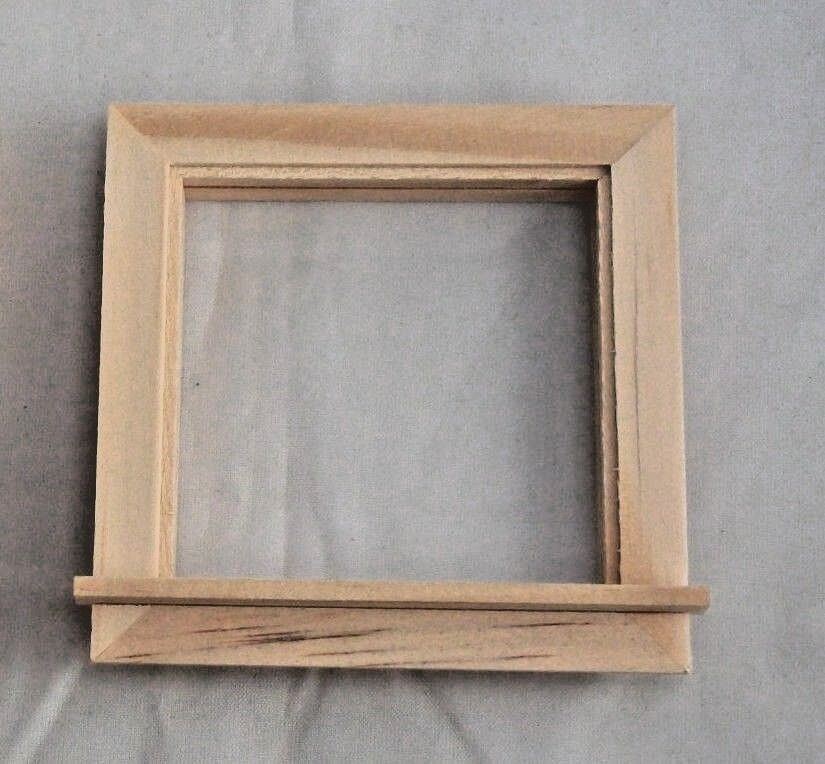 Half Round Window miniature 1//12 scale doll Houseworks #5048 attic wood 1pc