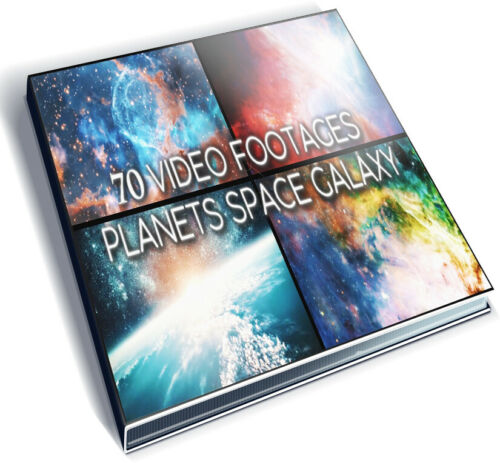 70+ VIDEO FOOTAGES PACK - PLANETS SPACE GALAXY EARTH STARS PREMIERE EDIUS