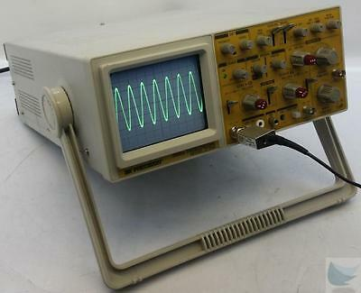 BK Precision 2125A 20 MHz 2 Channel Dual Trace Analog Oscilloscope