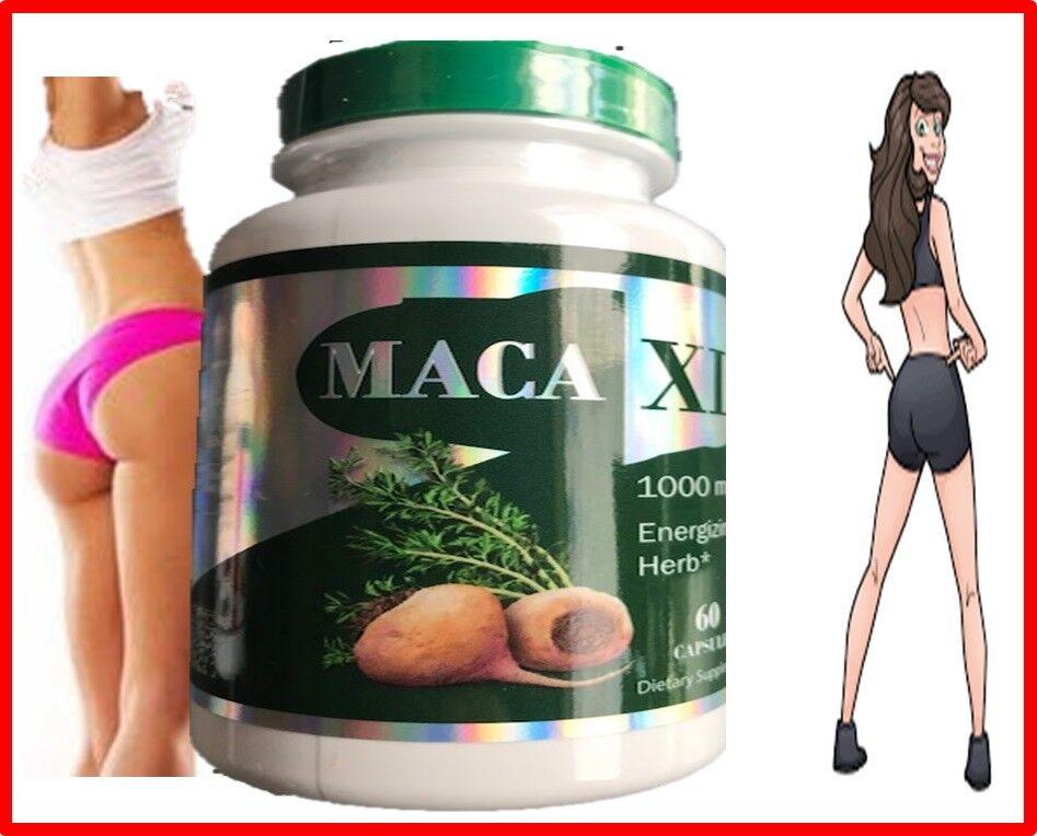 MacaXl Capsules Original Pill super maca Shape Buttocks Bigger Butt Booty Shaper 1