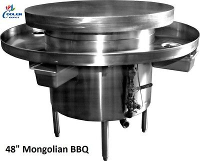 New 48 Commercial Mongolian Bbq Cooker Restaurant Equipment Model Mb48 Nsf