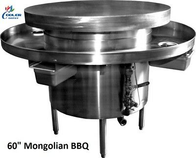 New 60 Commercial Mongolian Bbq Cooker Restaurant Equipment Model Mb48 Nsf