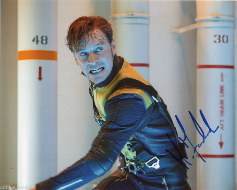 Michael Fassbender X-Men Autographed Signed 8x10 Photo COA #15