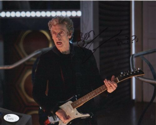 Peter Capaldi Doctor Who Autographed Signed 8x10 Photo JSA COA #12
