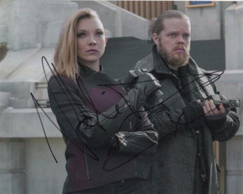 Natalie Dormer Hunger Games Autographed Signed 8x10 Photo COA #11