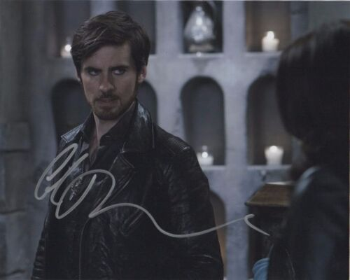 Once Upon A Time Colin O'Donoghue Autographed Signed 8x10 Photo COA #12