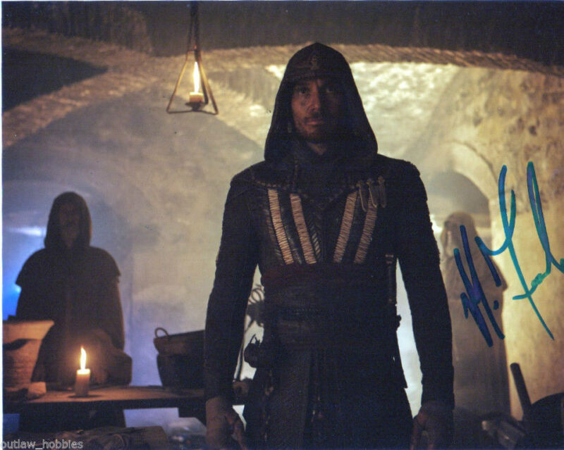 Michael Fassbender Assassin's Creed Autographed Signed 8x10 Photo COA #16