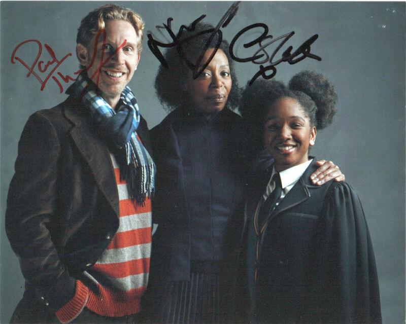 Thornley Dumezweni Harry Potter Cursed Child Autographed Signed 8x10 Photo COA