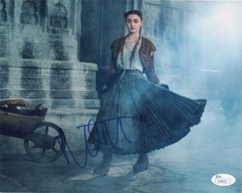 Maisie Williams Game of Thrones Autographed Signed 8x10 Photo JSA COA #4