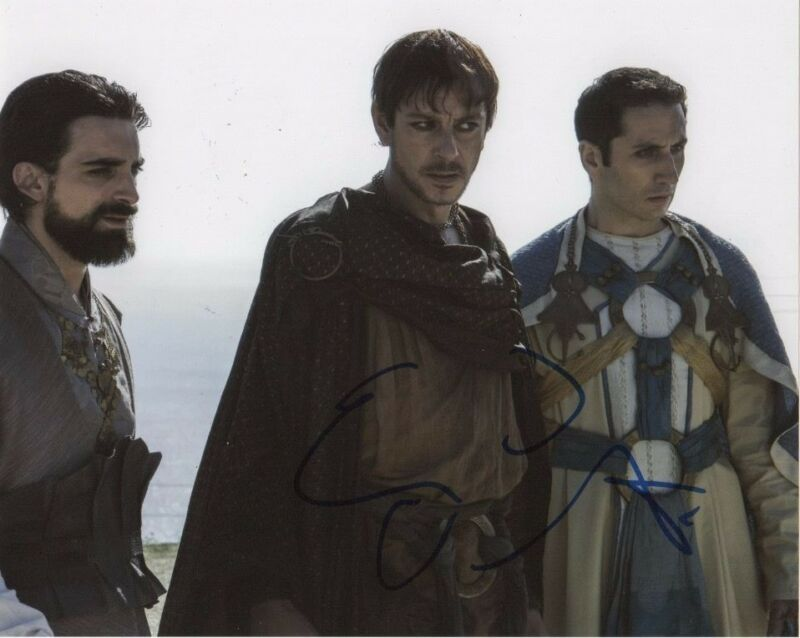 Enzo Cilenti Game of Thrones Autographed Signed 8x10 Photo COA #1