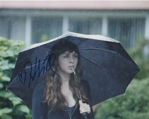 Hannah Marks Dirk Gently Autographed Signed 8x10 Photo COA #4