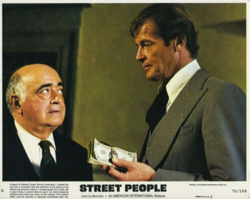 STREET PEOPLE (1976) Original 8x10 Color Set - Roger Moore