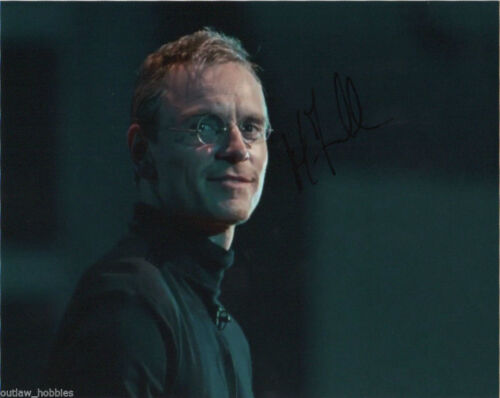 Michael Fassbender Jobs Autographed Signed 8x10 Photo COA #S1