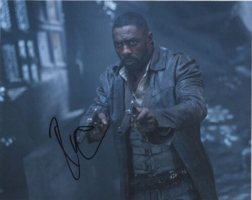 Idris Elba Dark Tower Autographed Signed 8x10 Photo COA #2