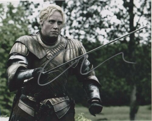 Gwendoline Christie Game of Thrones Autographed Signed 8x10 Photo COA #A1