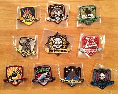 Call Of Duty XP 2016 10 Activity Patches! New! Infinite Warfare! C.O.D. Rare!