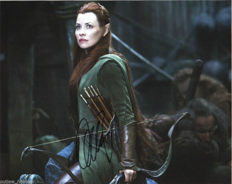 Evangeline Lilly The Hobbit Autographed Signed 8x10 Photo COA #1