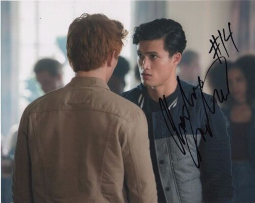 Charles Melton Riverdale Autographed Signed 8x10 Photo COA #N2