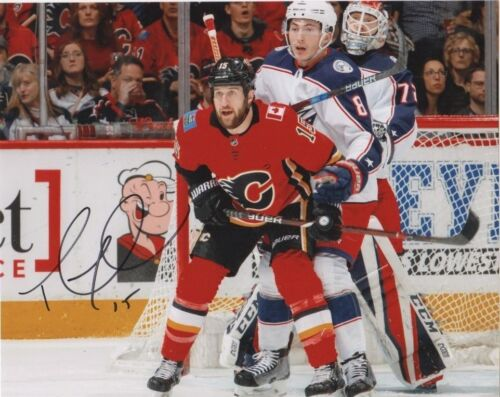 Calgary Flames Tanner Glass Autographed Signed 8x10 NHL Photo COA #1