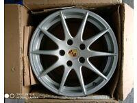 "Original/Genuine 18"" Porsche Panamera BBS alloy wheels"