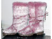 *Bargain* BNIB - New Spanish Designer Boots FLUXA - Size 6 - Never Worn