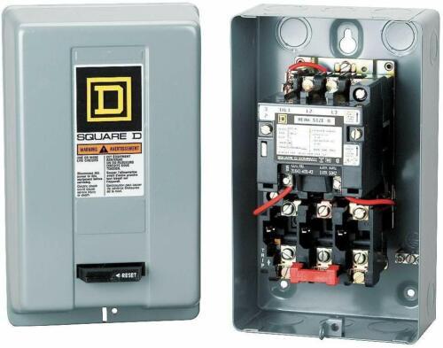 SCHNEIDER ELECTRIC 8536SDG1V03S Non-reversing Starter Motor Control, New