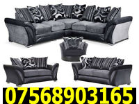 SOFA SHANNON CORNER SOFA DFS 3 SEATER AND 2 SEATER 4
