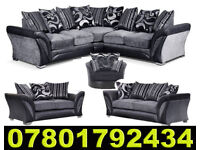 SOFA BRAND NEW SHANNON CORNER SOFA FAST DELIVERY DFS 3 SEATER AND 2 SEATER 742