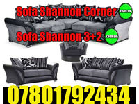 SOFA BRAND NEW SHANNON CORNER SOFA FAST DELIVERY DFS 3 SEATER AND 2 SEATER 03139