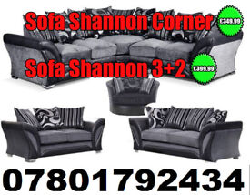 SOFA SHANNON CORNER SOFA DFS 3 SEATER AND 2 SEATER 5292