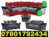 SOFA BRAND NEW SHANNON CORNER SOFA FAST DELIVERY DFS 3 SEATER AND 2 SEATER 15031