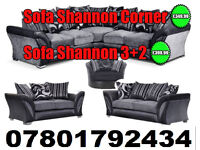 SOFA SHANNON CORNER SOFA DFS 3 SEATER AND 2 SEATER 8430